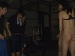 This Asian Guy Doing Practice And For His Genitals In The Gym - Sayaka Yamada