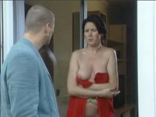 One Boob Out Was A Perfect Invitation For New Sexy Neighbor
