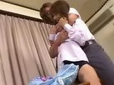 Asian Schoolgirl Stays After Classes To Satisfy Her Favorite Teacher Uncensored - Sayaka Tsutsumi