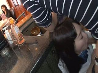 Rebellious Girl Sucking Stepdads Cock In A Kitchen While Mom Is Few Steps Away