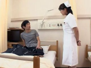 Busty Asian Nurse Loves To Make His Patient Feel Good