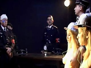 Captured Spy Girl Experience Rage of Nazi Soldiers
