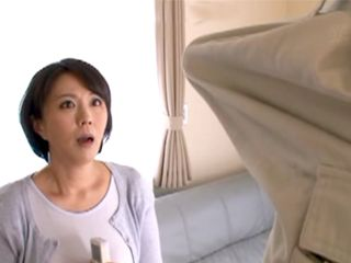 Huge Dick Of Air Conditioner Handyman Will Hunt Japanese Housewife For Good