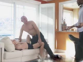 Slutty Bitch Babysitter Did Not Hope That Her Boss Will Get Home So Soon